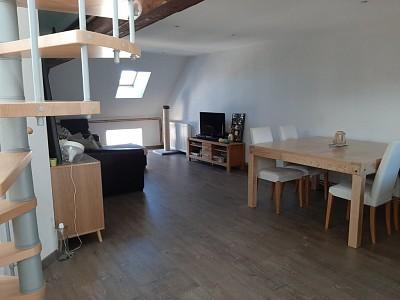 APPARTEMENT T2 A LOUER - GIVRY - 71,28 m2 - 590 € charges comprises par mois
