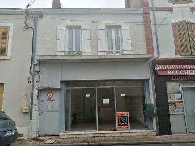 IMMEUBLE DE RAPPORT A VENDRE - BOURBON LANCY - 133,7 m2 - 50000 €