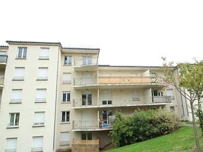 APPARTEMENT T2 A LOUER - LE CREUSOT - 40,45 m2 - 353 € charges comprises par mois