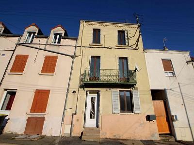 IMMEUBLE DE RAPPORT A VENDRE - LE CREUSOT - 104 m2 - 109000 €