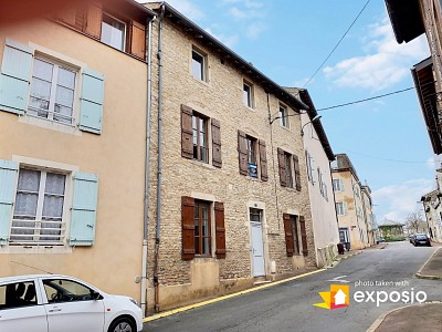 MAISON DE VILLE À USAGE DE BUREAUX A VENDRE - TOURNUS - 156 m2 - 195000 €