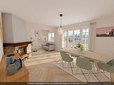 Maison 3 chambres sur sous-sol A VENDRE - GUEUGNON - 111,13 m2 - 99000 €