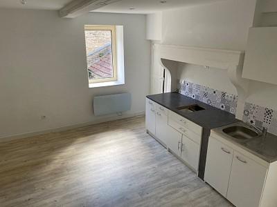 APPARTEMENT T1 A LOUER - ST JEAN DE VAUX - 40 m2 - 390 € charges comprises par mois