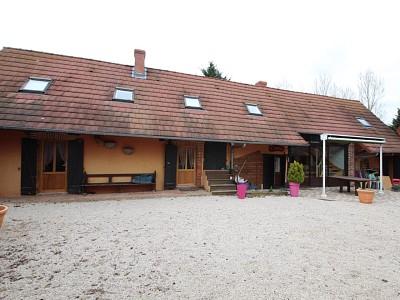 Ferme bressane avec terrain A VENDRE - ST GERMAIN DU BOIS - 204 m2 - 315000 €