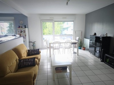 APPARTEMENT T3 A VENDRE - FONTAINE LES DIJON - 70 m2 - 175000 €