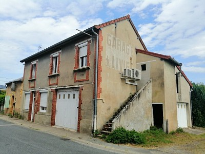 MAISON A LOUER - ISSY L EVEQUE - 91,89 m2 - 510 € charges comprises par mois