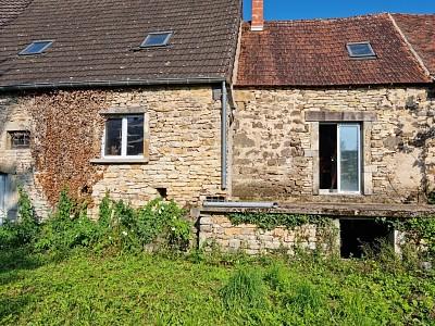 Maison vigneronne + grange A VENDRE - CHEILLY LES MARANGES - 225,85 m2 - 125000 €