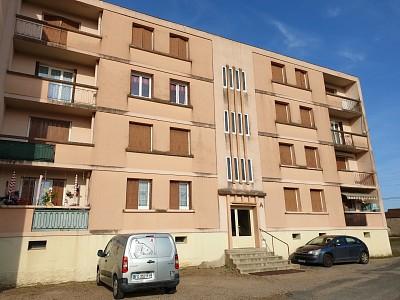 APPARTEMENT T3 A VENDRE - DIGOIN - 62,81 m2 - 44000 €