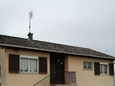 MAISON AVEC SOUS-SOL - ST MARTIN EN BRESSE - 84 m2 - VENDU
