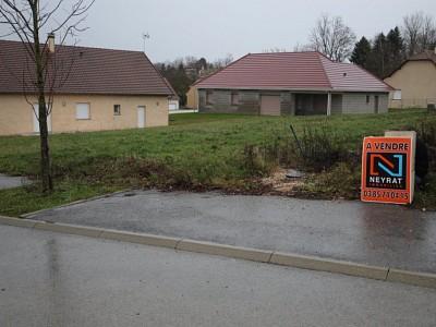 TERRAIN A VENDRE - LOUHANS - 839 m2 - 36000 €
