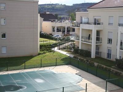 APPARTEMENT T3 A LOUER - NUITS ST GEORGES - 64,34 m2 - 697,38 € charges comprises par mois