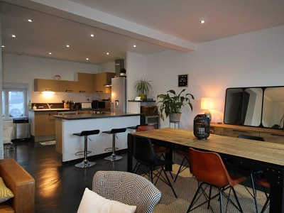 MAISON A LOUER - CHAMPFORGEUIL - 85 m2 - 880 € charges comprises par mois