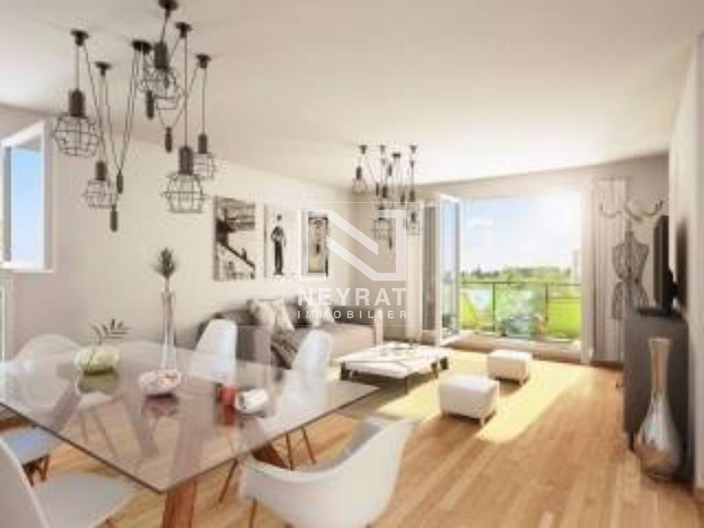 APPARTEMENT T3 NEUF A VENDRE - DIJON - 61,15 m2 - 155 000 €