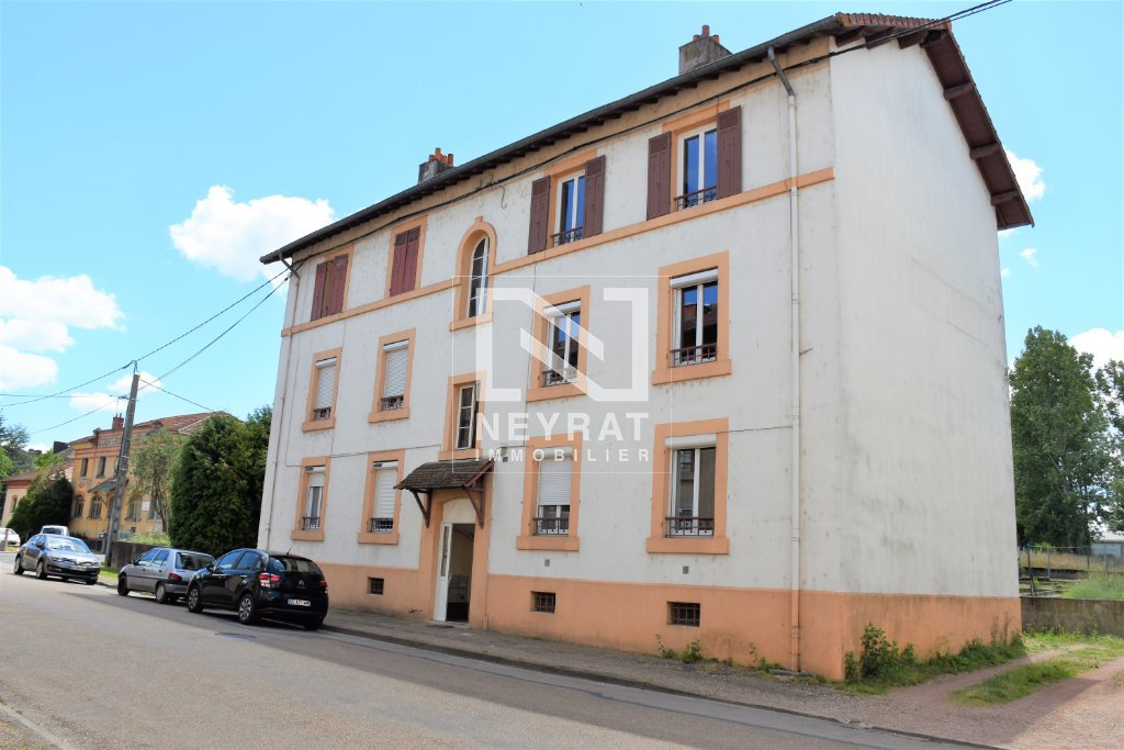 APPARTEMENT T3 A VENDRE - PARAY LE MONIAL - 62 m2 - 44 000 €