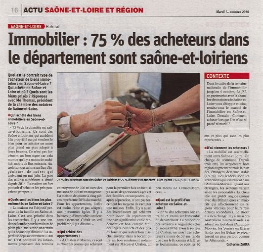 Article JSL du 01 octobre 2019