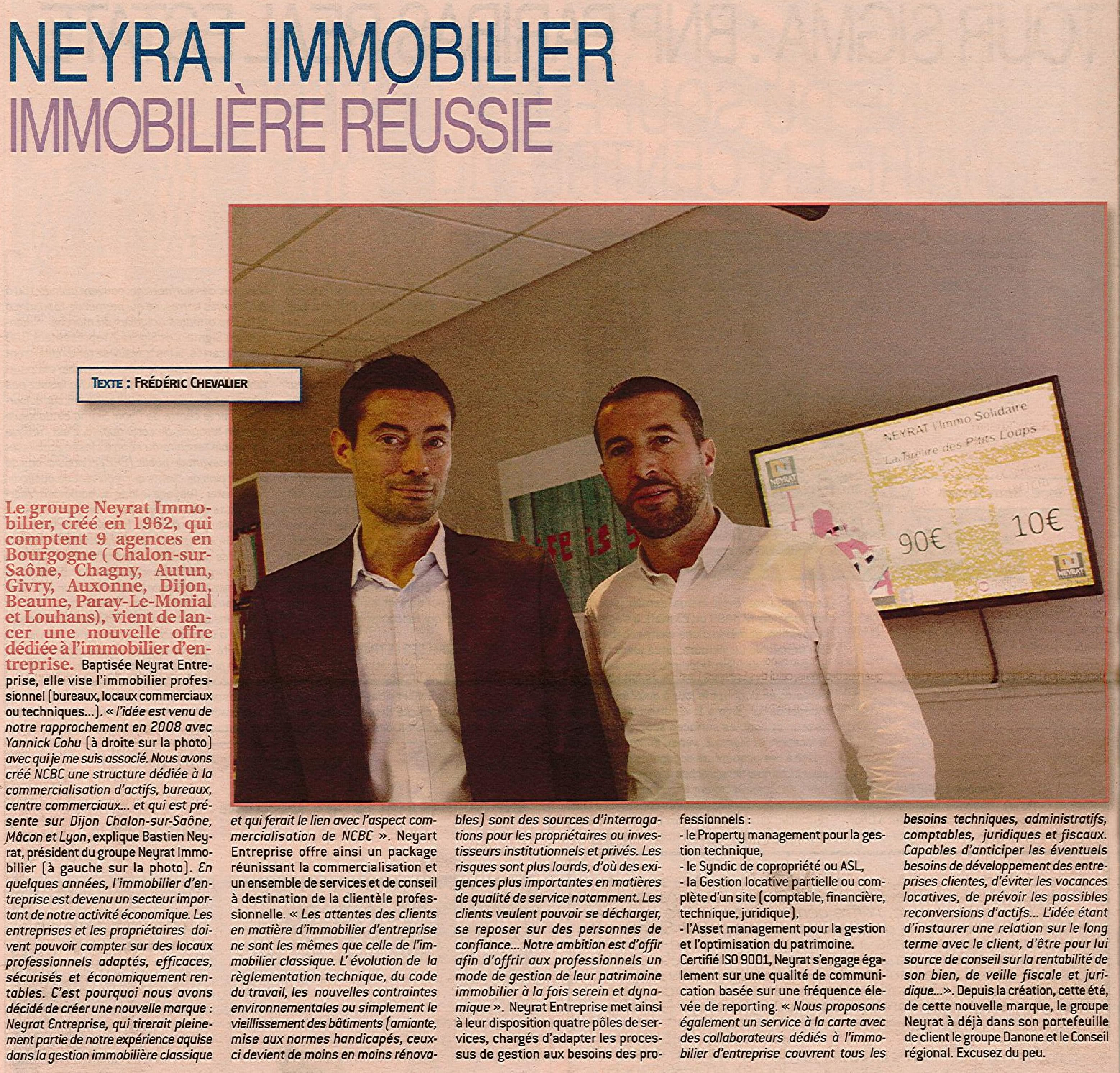 NEYRAT Entreprise